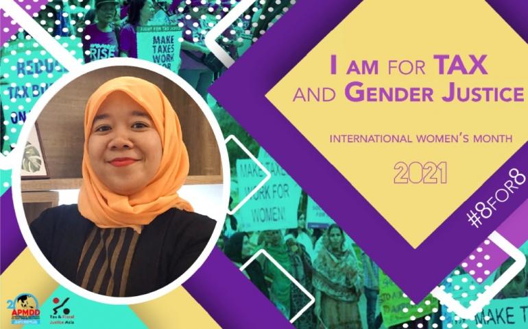 Hari Perempuan Internasional, 8 Maret 2021 #KeadilanPajak untuk KeadilanGender #TaxJustice for GenderJustice